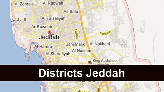 Districts Jeddah