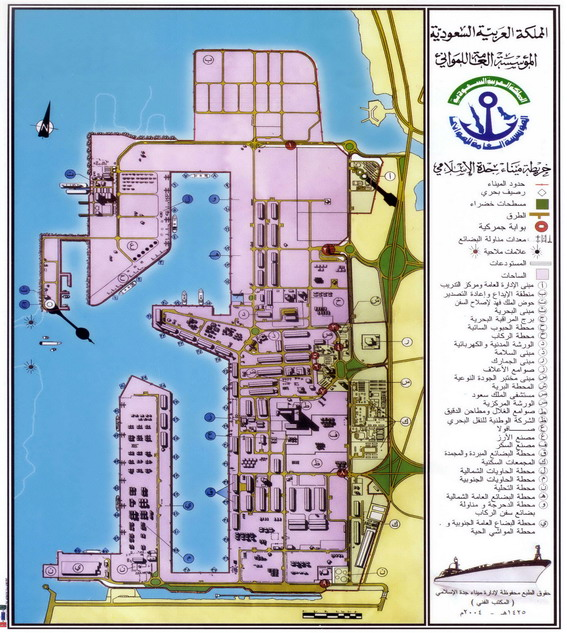 Jeddah Port Map