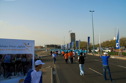 mobily jeddah marathon pictures