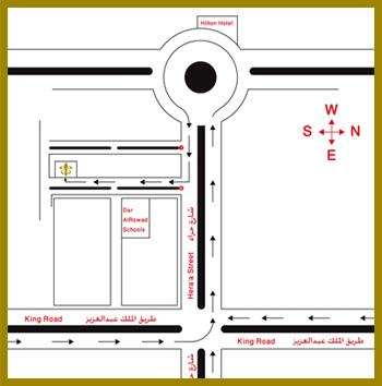 Le Traiteur restaurant jeddah map