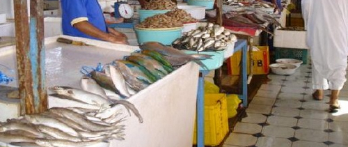 Bengali Fish Market in Jeddah