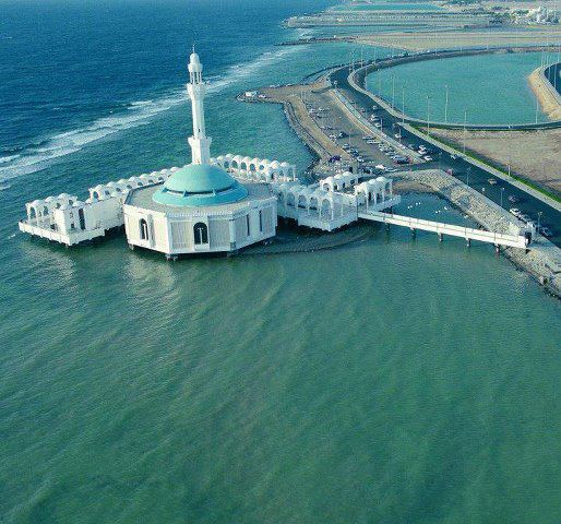 floating mosque jeddah Floating Mosque Jeddah