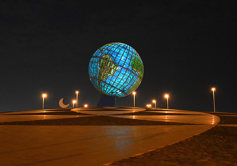 Globe Roundabout in Jeddah