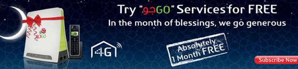 GO Ramadan Offer One Month Free Service