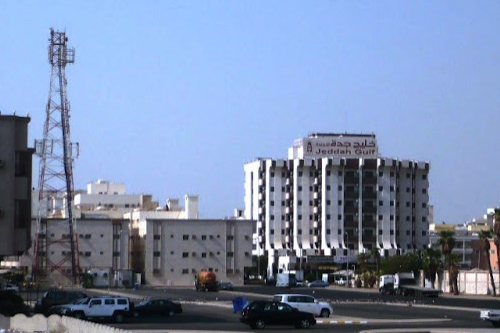 Jeddah Gulf Hotel @ Faisaliyya, a view from Kubri Murabba