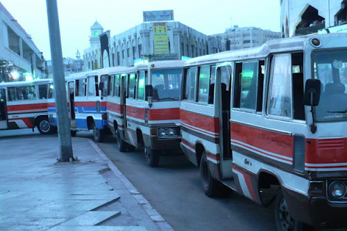 Hafila -Local transport mini Bus