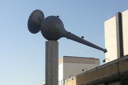 Sculpture @ Balad,  the city centre of Jeddah