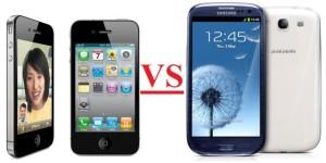 Samsung Galaxy s3 vs Apple iPhone5