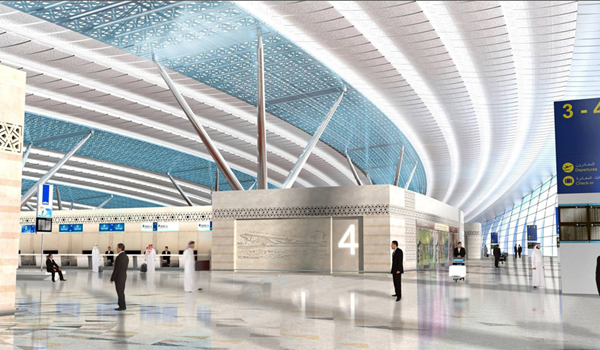 King Abdulaziz International Airport Project Design Photos 3