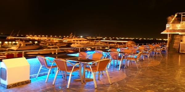 Al Ahlam Marine Hotel Night View  - Jeddah