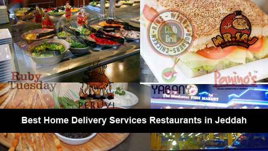 Best Home Delivery Services Restaurants in Jeddah