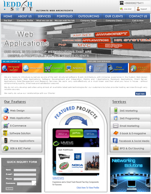 Web Design Company - Jeddah Soft