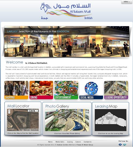 Al Salaam Mall Jeddah Website
