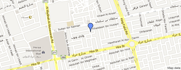Albatoul Marine Jeddah Map