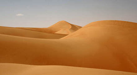 Empty Quarter in Saudi Arabia