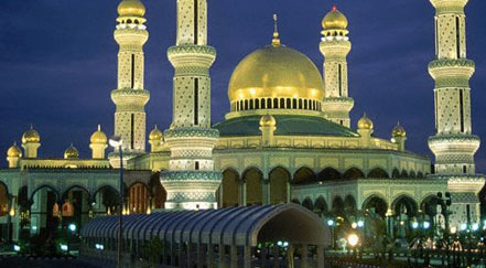 golden mosque manila philippine Top 10 Most Beautiful Mosques In The World