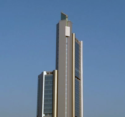 Hugayet Tower in Khobar - Saudi Arabia