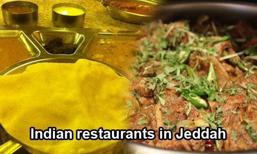 Indian restaurants in Jeddah