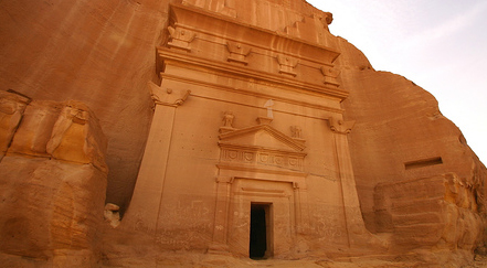Medain Saleh in Saudi Arabia
