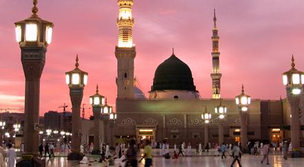 Medina in Saudi Arabia