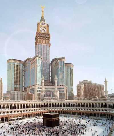 Makkah Royal Clock Tower - Makkah - Saudi Arabia
