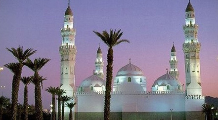 Masjid al-Qiblatain in Saudi Arabia