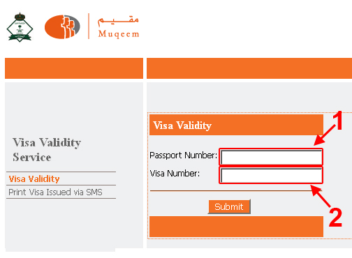 saudi arabia visa validity checking Saudi Arabia Visa Validity Checking Online