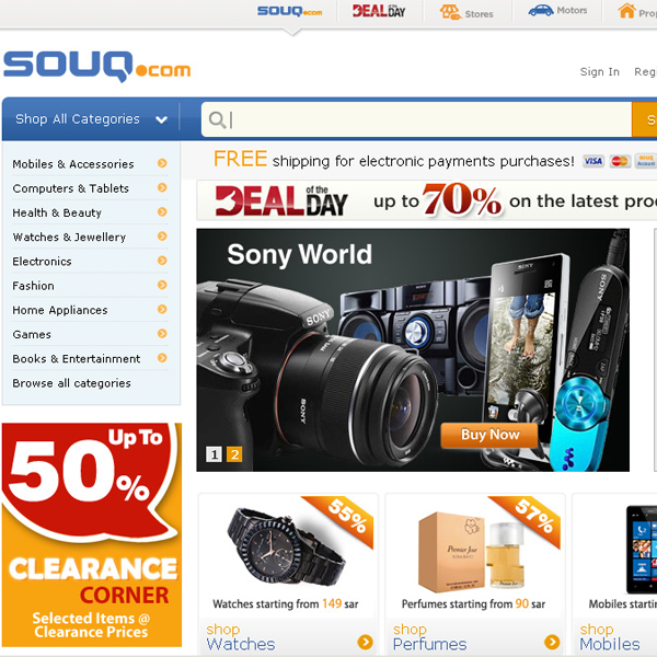 souq com saudi arabia Online Shopping in Saudi Arabia