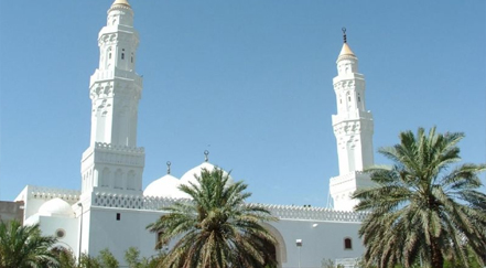 The Jawatha Mosque in Saudi Arabia