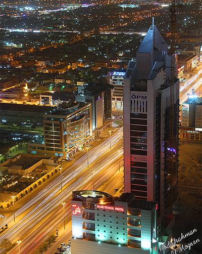 Waseel Tower in Riyadh - Saudi Arabia