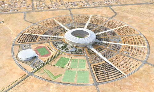 king abdullah stadium jeddah saudi arabia 6 The King Abdullah Sports City Jeddah   Saudi Arabia