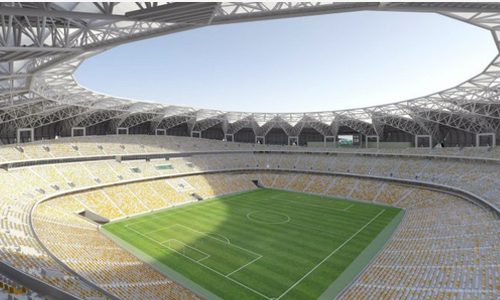 king abdullah stadium jeddah saudi arabia 8 The King Abdullah Sports City Jeddah   Saudi Arabia