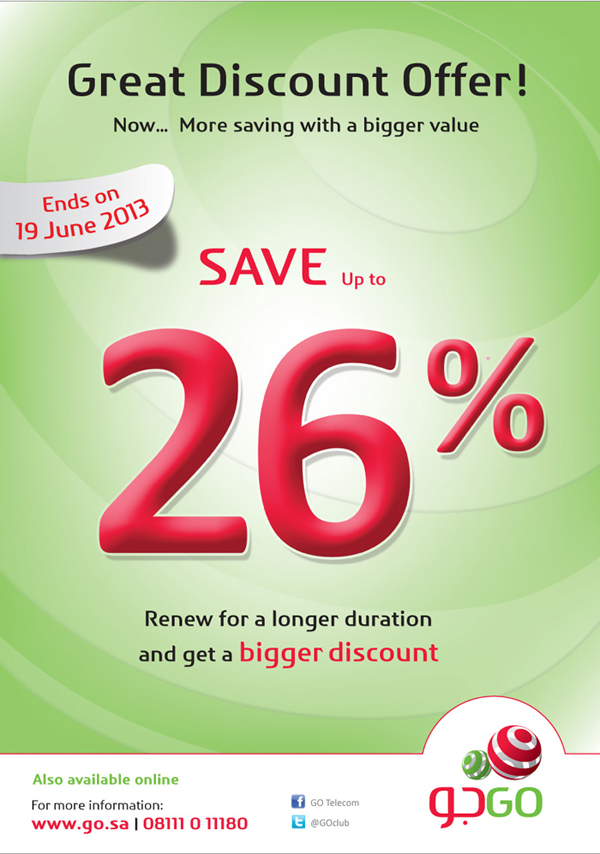 GO internet - Great Discount Offer