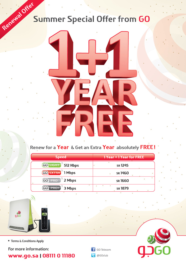 Renew for a Year & Get an Extra Year Absolutely Free
