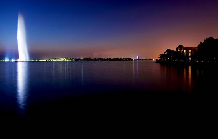 Hayat Park Jeddah, seascape
