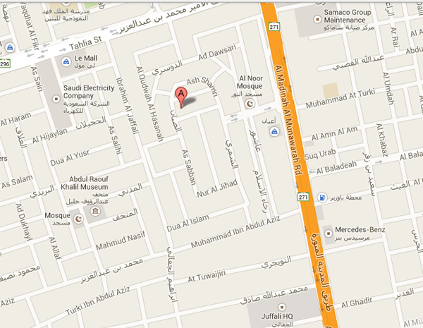 Golden Tulip Jeddah Google Map