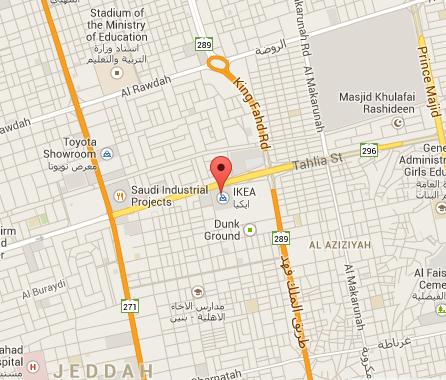 ikea jeddah map IKEA Jeddah Saudi Arabia / ايكيا جدة السعودية