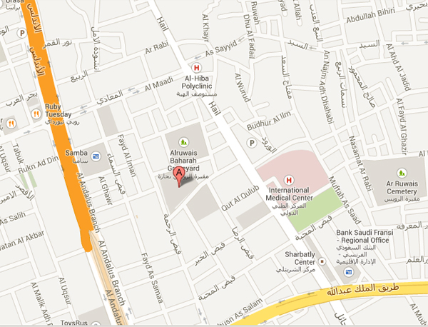 jeddah computer center Map