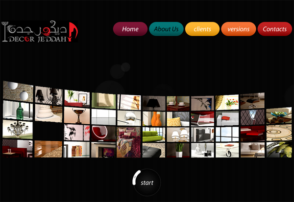 Jeddah Decor Website