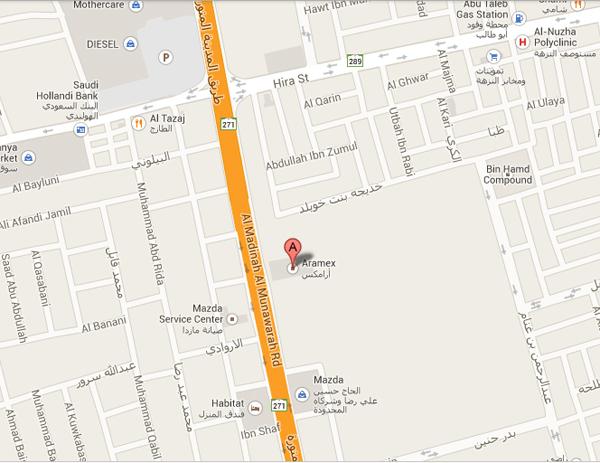 aramex_jeddah_map
