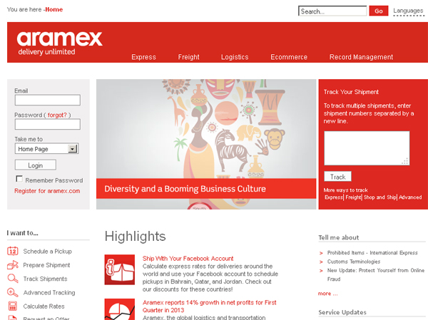 aramex_jeddah_website