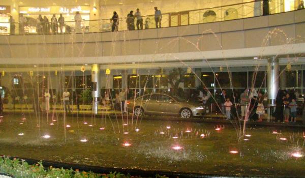 Stars Avenue Mall Dancing Fountain