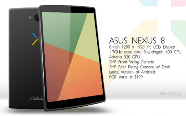 Nexus 8 Tablet Price in Saudi Arabia