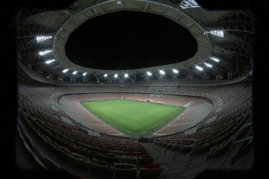 King Abdullah Sports City night photos
