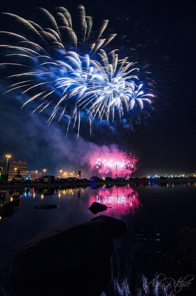 Jeddah Summer fireworks photography