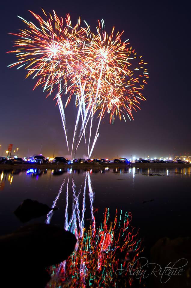 Jeddah Summer Festival 2014 fireworks photography