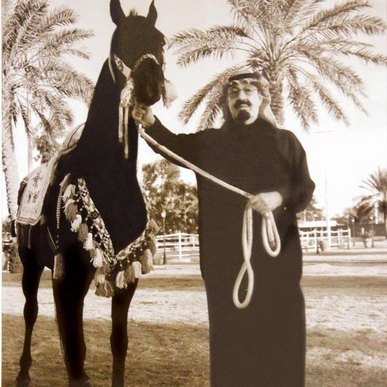 old picture of king abdullah